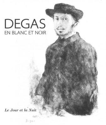 Degas en blanc et noir