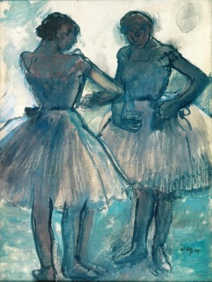 Degas, Deux danseuses, Musée Angladon