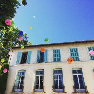 Ballons dans la Cour du Musée