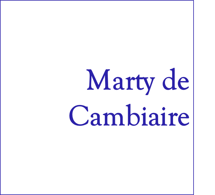 Marty de Cambiaire